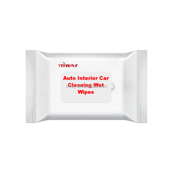 Auto Interior Car Cleaning Wet Wipes