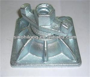 Forged and Assembly Formwork Plate with Nut