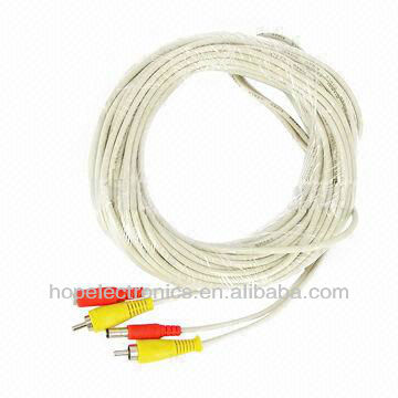 CCTV Audio Video Power Cable with BNC and DC