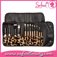 Professional 12pcs top quality cosmetic brush