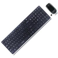 USB Wholesale Cheap 2.4g Optical tablet pc wireless keyboard mouse combo