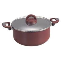 Brown non stick casserole Dutch Oven