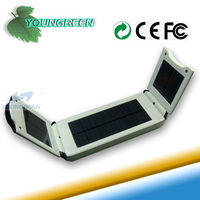 Portable Solar Panel Charger for Charging Cell Phones