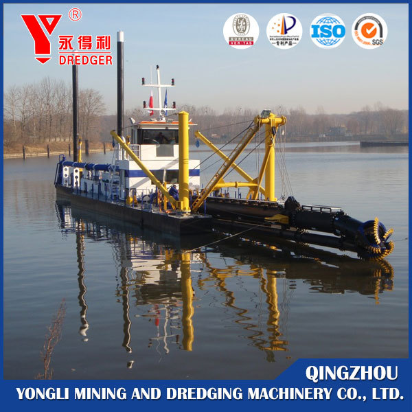 1600 cbm/h hydraulic cutter suction dredger for sale