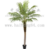 2015 indoor or outdoor natural touch artificial 1-3.5m phoenix palm tree with synthetic trunks manufactory