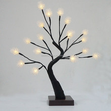 18L 40cm Warm White LED Lighted Christmas Cone Tree for Christmas Decoration