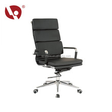 Good Price Beautiful Designer Leather Office Chair Metal Frame Office Chair With Multi-Functional Mechanism