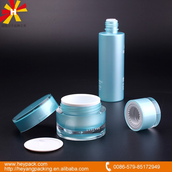 reliable manufacturer of acrylic PP PET HDPE plastic cosmetic jar