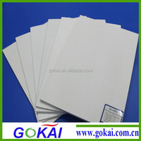 0.6 high density white carved pvc board for sale