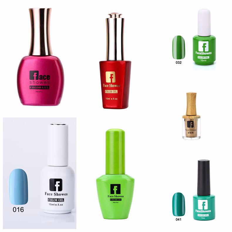 Supply Faceshowes 7ml Bottle Healthy pure colour gel nail polish-