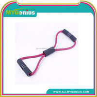 I116 8 shape resistance band chest expander for women fitness