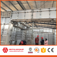 aluminum foil building construction material foam block construction aluminum formwork construction