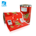 Multilayer printing plastic packaging film for frozen food packaging