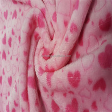 100% POLYESTER PRINTED CORAL VELVET FABRIC FLANNEl FlEECE FABRIC