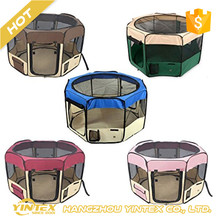 foldable Cheap Pet Exercise Playpen Dog Cat Soft Crate Cage Tent for Travel