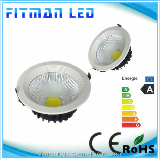 high quality nartural white 4000k 10w cob led downlight for shopping mall