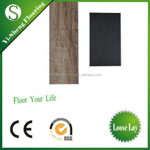 Plastic Materials UV Coating white vinyl plank flooring