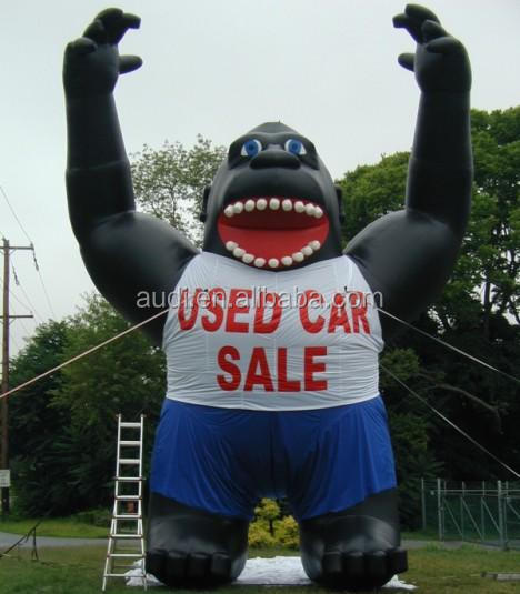 Giant Inflatable Ape Balloon For Promotion Advertising