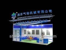 china exhibition booth design and construction