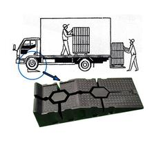 Hot sale plastic car ramp chock block