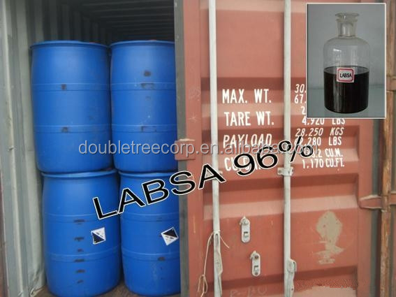 Factory for soap making detergent raw Materials price 96% LABSA
