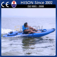 hison latest generation Electrical hot sale one person fishing boat