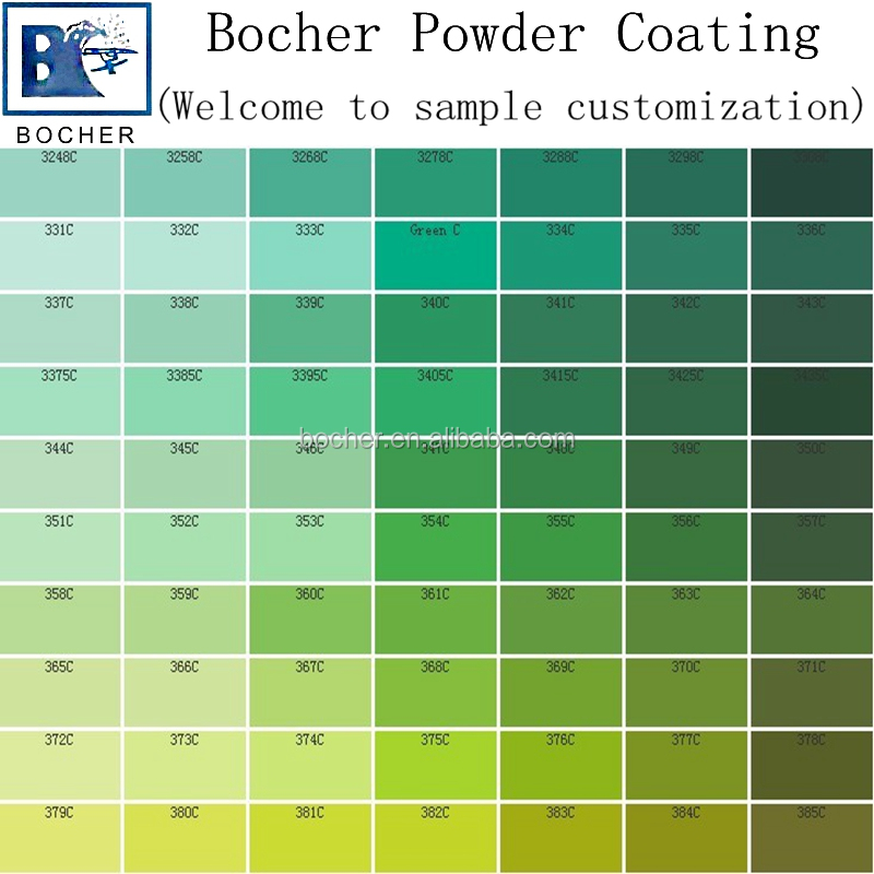 Pantone Color Chart Powder Coating Spray Paint - Buy Free Sample