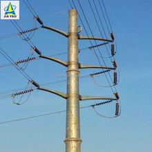 electrical steel transmission line poles cross arm