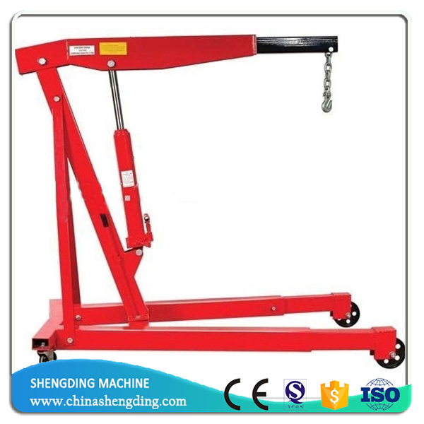 3 ton hydraulic shop hoist crane for engine