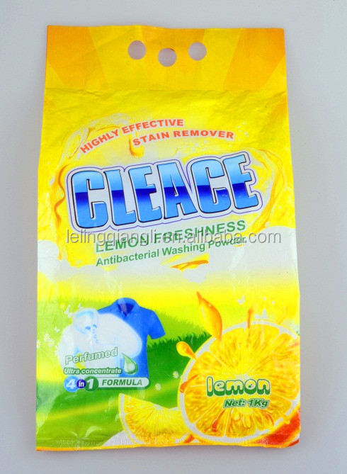 CLEACE Laundry Soap Detergent Washing Powder 1KG High Quality OEM Factory