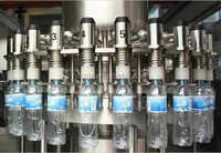 Plant for bottling water/plant production water in pet bottles