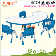 Primary School Daycare toddler table and chairs Baby Nursery Furniture table and chairs Sets