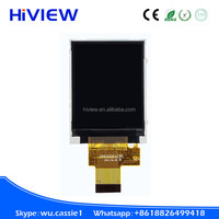 2.0 inch graphic TFT LCD modul 176*220 ST7775R, 8/9/16/18 bit MCU, 3/4 wire SPI+16/18 bit RGB interface TFT LCD with touch panel