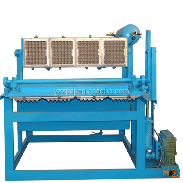 Fully Automatic Pulped Paper Egg Tray Machine/ Production Line/Recycled Paper pulp molded egg trays machine