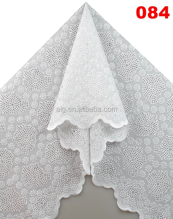 new 2016 high quality african cotton lace fabrics