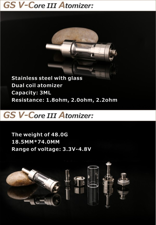 Adjustable Electronic Cigarette eGo 3.3V-4.8V 2200mah Twist Mega Kit Mechanical Mod Vaporizer
