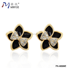 Most Popular Products China Crystal Alloy Enamel Stud Earring