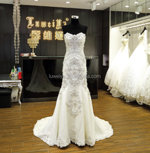 Real Pictures wedding gowns two use way lovey lace wedding dress