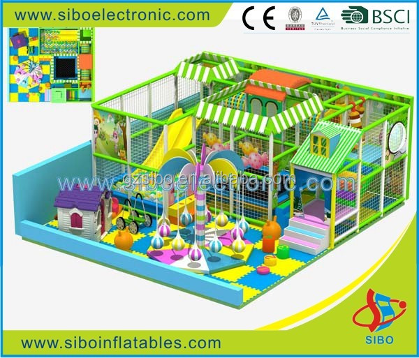 GM0 game room equipment children play fence christmas plays for kindergarten