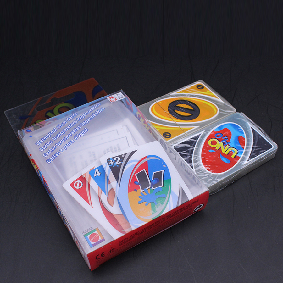 New Colored Blister Packing Uno Playing Cards