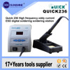 Portable Quick 236 ESD 90w Lead Free LCD Digital Soldering Station