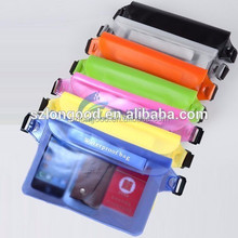 2017 Wholesale PVC Waterproof Phone Bag For iPad, Mobile Phone Cover For Waterproof Pouch