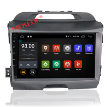 2G+16G android 6.0 car gps radio player navigation 1 din in dash car video K-I-A sportage r sportage 2011-2015
