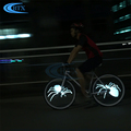 USB Rechargeable Battery Bike LED Bicycle Wheel Light