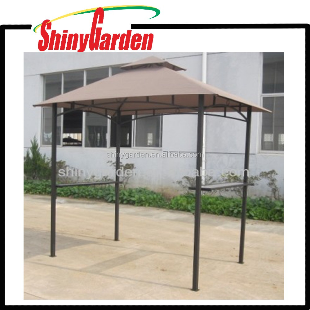 Metal outdoor bar grill gazebo modern patio outdoor - Pergolas carrefour 2017 ...