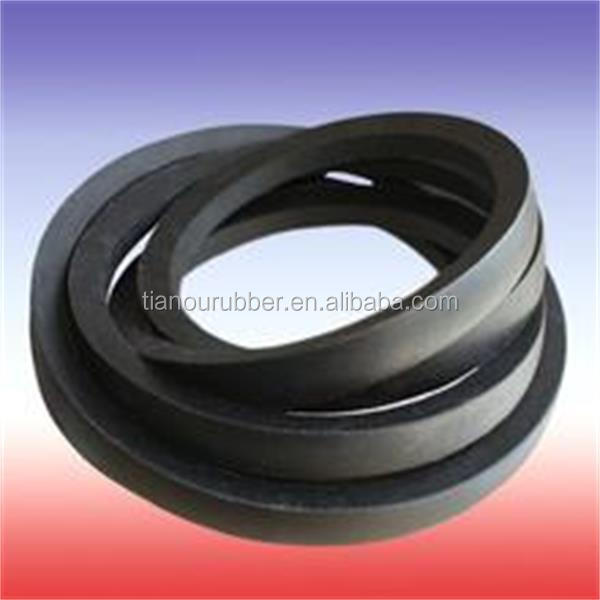 rubber v belt on sale v-belt of good quality v-belt in black color made in cn