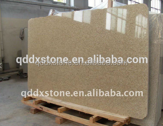 shandong G350 yellow granite slab for sale