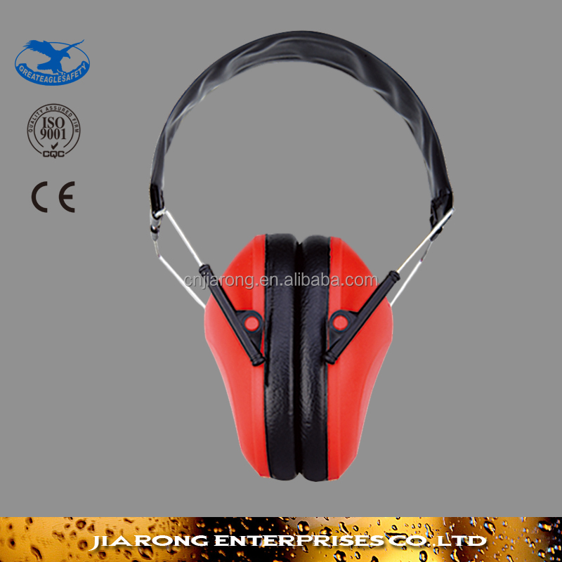 ABS Material Hearing Protection Sounproof Stylish Ear Muffs EM-207