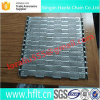 sus304 stainless steel heat resistance plate link conveyor belt for mineral