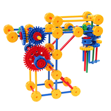 Wonderful building blocks educational toys interesting snap circuit